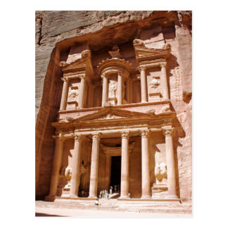 hey petra is a very exiting place to be Summary De Postcard