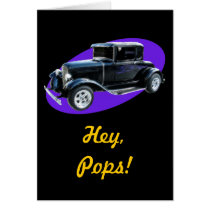 Hey, Pops!  Father's Day Card