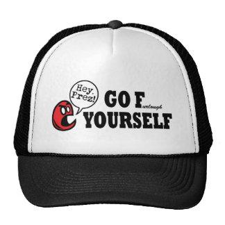 Hey Prez! Go F(urlough) Yourself! Trucker Hat