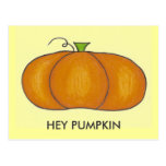 Hey Pumpkin Postcards