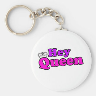 Hey Queen Keychain