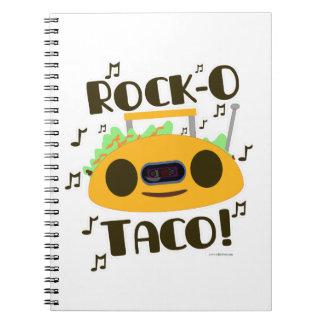 Hey Rock-O Taco Notebook