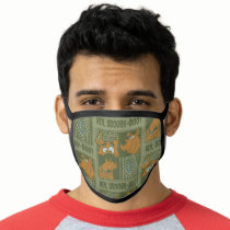 Hey Scooby-Doo Tribal Square Graphic Face Mask