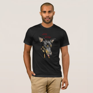 HEY SEXY WEIRD DOG LOOK FUNNY SHIRT ART PRINT