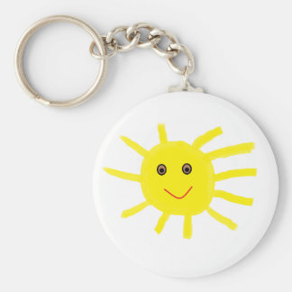 Hey Sunshine Keychain