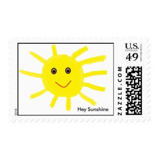 Hey Sunshine Postage Stamp