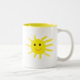 Hey Sunshine Two-Tone Coffee Mug