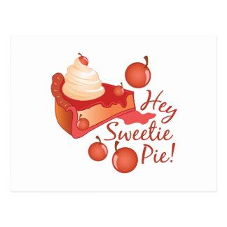 Hey Sweetie Pie Postcard