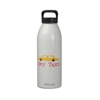 Hey Taxi Reusable Water Bottles