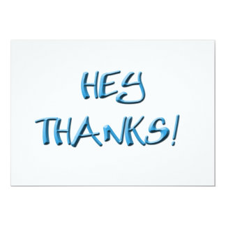 Hey, Thanks! Thank you gifts Card