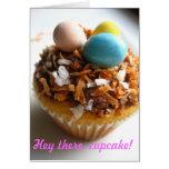 Hey there, cupcake! - Customizable Greeting Card