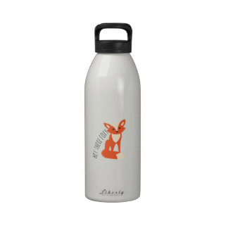 Hey There Foxy Water Bottles