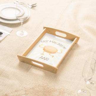 Hey There Macarons Serving Tray