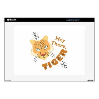 Hey Tiger Laptop Skin