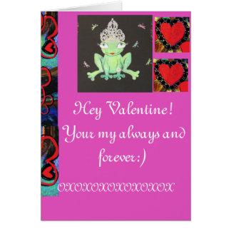Hey Valentine Card
