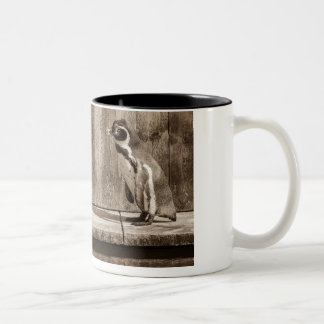 Hey Wait Up Guys! Two-Tone Coffee Mug