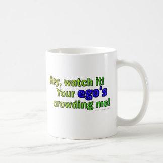 Hey, watch it! ego coffee mug