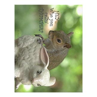 """Hey ... Who you callin' Thumper""? Letterhead Design"