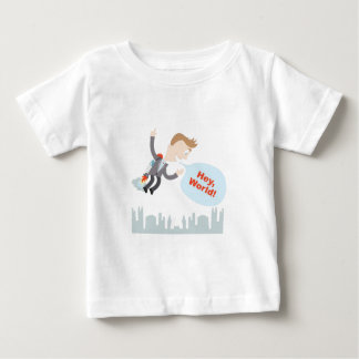 Hey, World! Infant T-shirt