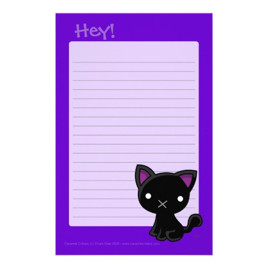 Hey Writing Pad Stationery