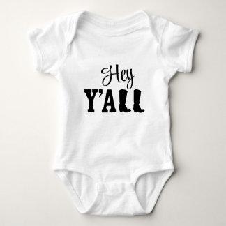 Hey Y'all Baby Bodysuit