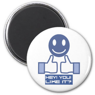 Hey! You! 2 Inch Round Magnet