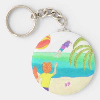 Hey! You Forgot Your Flip Flops! Keychain