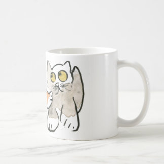 Hey YOu! Want to Wrestle? asks, Kitten Coffee Mug