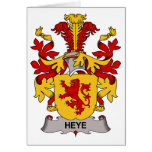 Heye Family Crest Greeting Cards