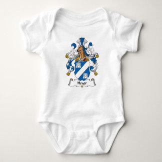 Heyer Family Crest T-shirts