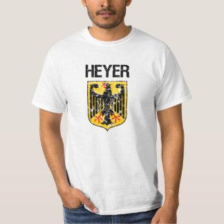Heyer Last Name T-shirt