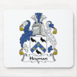 Heyman Family Crest Mouse Pads