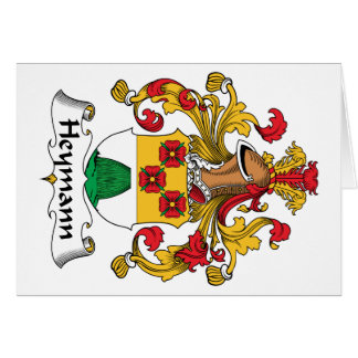 Heymann Family Crest Card