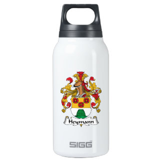 Heymann Family Crest Insulated Water Bottle