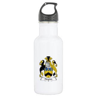 Heynes Family Crest Stainless Steel Water Bottle