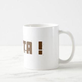 Heyta - línea surafricana de los refranes del muni taza de café
