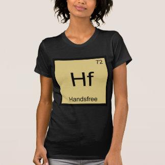 Hf - Camiseta divertida sin manos del símbolo del