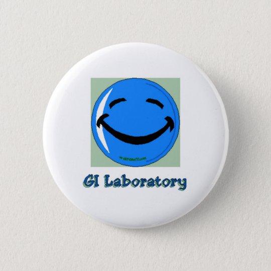 HF GI Laboratory Pinback Button