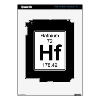 Hf - Hafnio iPad 3 Pegatina Skin