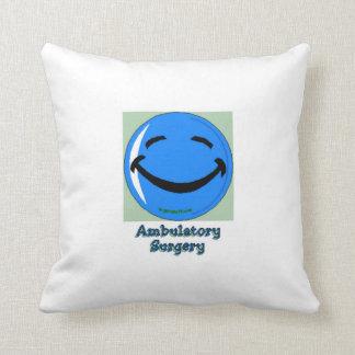 HF Hospital Ambulatory Surgery Throw Pillow