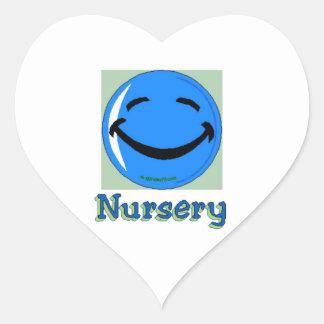 HF Hospital Nursery Heart Sticker