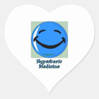 HF Hyperbaric Medicine Heart Sticker