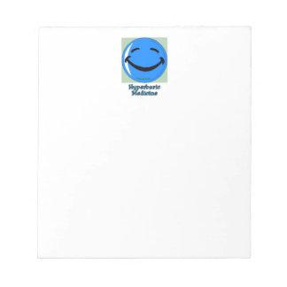 HF Hyperbaric Medicine Notepad