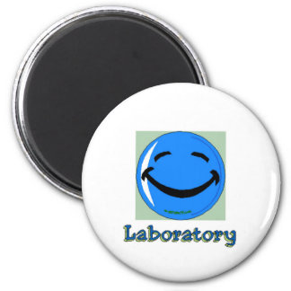 HF Laboratory Fridge Magnet