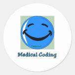 HF Medical Coding Classic Round Sticker
