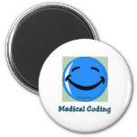 HF Medical Coding Refrigerator Magnets