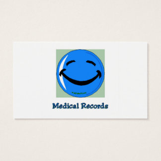 HF Medical Records Business Card