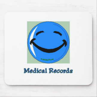 HF Medical Records Mouse Pad