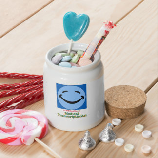 HF Medical Transcriptionist Candy Jars