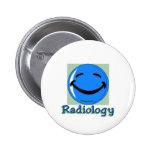 HF Radiology 2 Inch Round Button